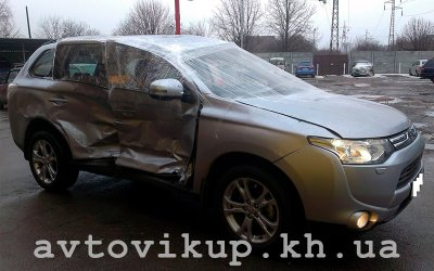 Выкуп Mitsubishi после аварии